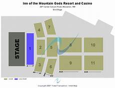 Spirit Mountain Casino Seating Chart Inn Of The Mountain Gods Resort Amp Casino Seating Chart