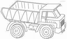 dump truck coloring pages to and print for free