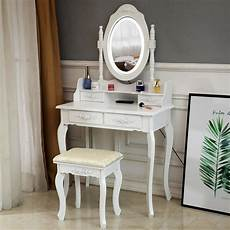ktaxon elegance white dressing table vanity table and