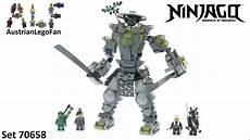 Lego Ninjago Oni Ausmalbilder Lego Ninjago 70658 Oni Titan Lego Speed Build Review