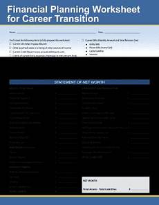 Financial Planning Worksheet Turbotap Financial Planning Worksheet For Career