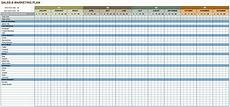 Sales And Marketing Plan Templates Free Marketing Plan Templates For Excel Smartsheet