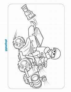 playmobil coloring sheet city 2016 03