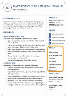 Additional Skills In Resume 100 Skills For Your Resume Amp How To Include Them