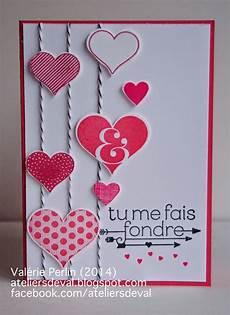 Cartes St Valentin Les Ateliers De Val Carte Pour Mon Valentin Carte St