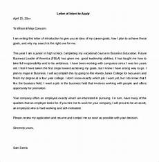 Sample Letter Of Intent To Hire Employee 9 Employment Letter Of Intent Word Pdf Free
