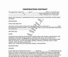 Contractor Contract Sample How To Decide On The Right Renovation Contractor Kaodim