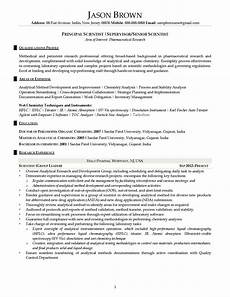 Science Resume Examples Science And Research Resume Examples