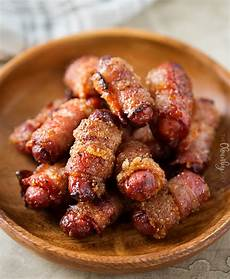 spicy brown sugar bacon wrapped smokies the