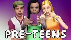 Download Teenagers Sims 4 Pre Teens Youtube