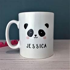 Mug Designs Monochrome Panda Mug By Hendog Designs
