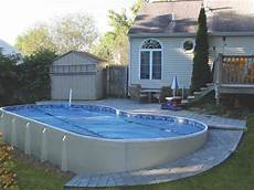 Above Ground Swimming Pool Designs 19 Amazing Above Ground Swimming Pool Ideas A Variety