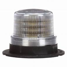 Beacon Lights For Semi Trucks Truck Lite 174 92564c Bolt On Mount Low Profile White Led