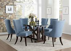 glass dining room sets new transitional dining room rectangular glass top table