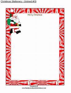 Free Printable Christmas Stationery Free Printable Unlined Christmas Stationery Christmas