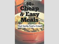 The 50 Best Cheap Meals for Large Families That Will Fit