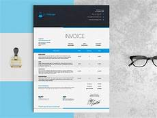 Elegant Invoice Template Elegant Invoice Template Indesign Template
