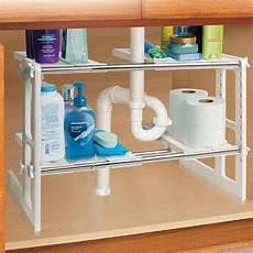 sink shelves storage shelf organizer bathroon