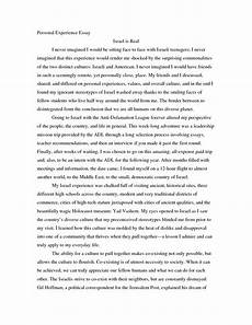 Narrative Essay Example About Life Singular Narrative Essay About A Personal Experience