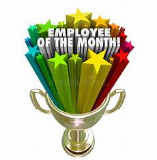 Employee Of The Month Award Employee Of The Month Gold Trophy Award Top Performer