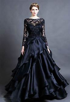 15 beautiful black wedding dresses bridal gowns