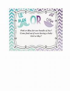 Free Printable Gender Reveal Invitations 17 Free Gender Reveal Invitation Templates ᐅ Templatelab