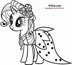 my pony rarity coloring pages team colors