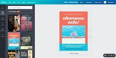 membuat poster iklan dengan 100 contoh desain keren canva