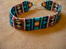 loom square stitch beaded american inspired