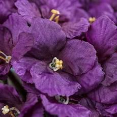African Violet Lighting Artificial Purple Ruffled Artificial African Violet Bush Bushes