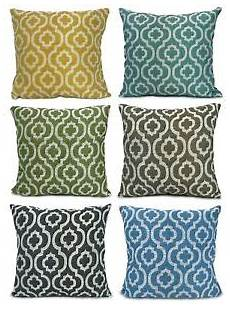 cushions chenille moroccan diagona scatter cushions or