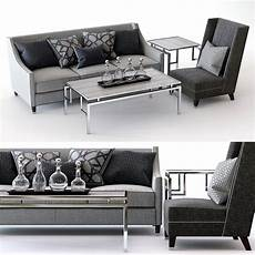 Palisades Sofa 3d Image palisades sofa driscoll chair 3d turbosquid 1288214