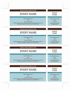 Fundraising Tickets Templates For Free Event Tickets Templates Office Com Ticket Template