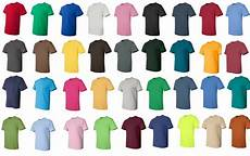 Gildan Shirt Color Chart 25 50 Or 100 Gildan Blank T Shirts Bulk Wholesale S Xl