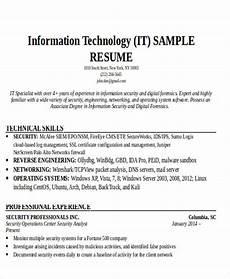 Resume For It Graduate 24 It Resume Templates Pdf Doc Free Amp Premium Templates