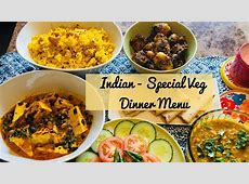 Special Indian Dinner Menu for Guest   Quick and Easy