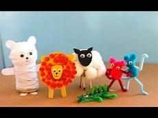 five animal crafts to make