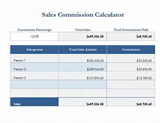 Free Downloadable Calculator Sales Commission Calculator Templates 7 Free Docs Xlsx