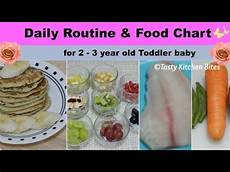 2 Year Old Food Chart Daily Routine Amp Food Chart For 2 3 Year Old Toddler Baby