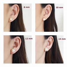 ear mm size chart earring mm size