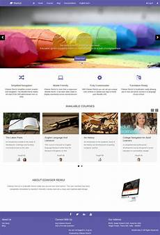 Moodle Mobile Themes 15 Best Moodle Themes Of 2017 Design Shack