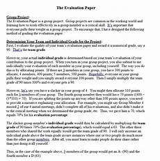 Evaluate Essay Example How To Write An Evaluation Essay Examples And Format