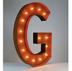 Buy Marquee Lights 36 Letter G Lighted Vintage Marquee Letters Rustic