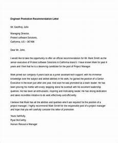 Eb1 Recommendation Letter 14 Promotion Recommendation Letters Free Amp Premium