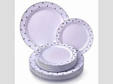 PARTY DISPOSABLE 40 PC DINNERWARE SET   20 Dinner Plates