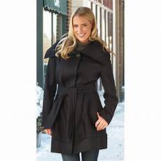 nine west coats for classroom s nine west 174 swing coat black 215371 insulated