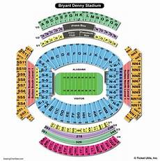 Bryant Denny Stadium Seating Chart With Seat Numbers Bryant Denny Stadium Seating Chart 2018 Bruin Blog