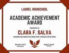 Academic Award Certificate Customize 534 Award Certificate Templates Online Canva