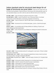 Australian Structural Steel Design Code Indian Standard Code For Structural Steel Design For All