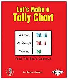Amazon Nonfiction Charts Let S Make A Tally Chart First Step Nonfiction Graph It
